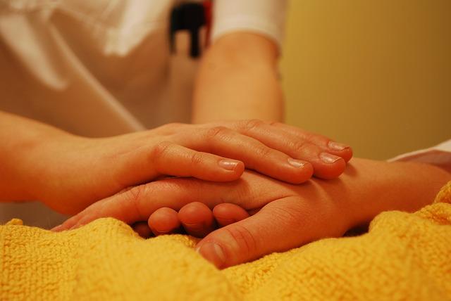 Grundpflege von Kranken und Alten